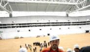 Galatasaray TT Arena'yı Gezdi