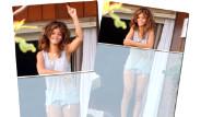 Rihanna Makyajsız ve Pijamalı
