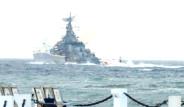 Rus Savaş Gemisi Akdeniz'e İndi
