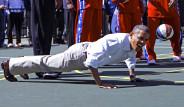 Obama Ceza Şınavı Çekti!