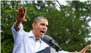 Obama Sırılsıklam