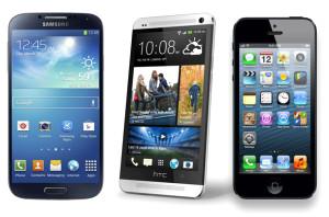 İphone 5s, Galaxy S4 ve Htc One'da Hangi Sorunlar Var?