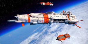 Bu Uzay Gemisinde Çalışmak ve Yaşamak İsteyen Var Mı?