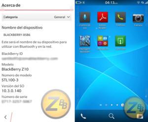 Blackberry 10.3'ün Ekran Görüntüleri Sızdı