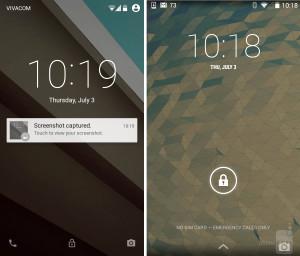 Karşılaştırma: Android L Vs. Android Kitkat