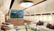 Lüks Evleri Aratmayan Özel Uçak