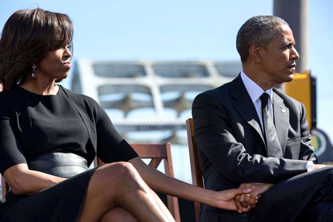 Barack& Michelle Obama'nın Aşkına Şahit Olacağınız 15 Kare