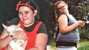 21 Yaşındaki Obez kız, Yemekleri Çay Kaşığıyla Yedi 56 Kilo Verdi