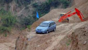 Protesto İçin inşaat Alanına Arabasını Bıraktığına Pişman Ettiler