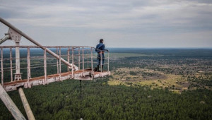 Sovyet Rusya'dan Kalan 150 Metre Boyundaki Dev Radardan 17 Kare