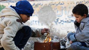 Savaşın Harap Ettiği Suriye'de Günlük Yaşamdan 16 Kare