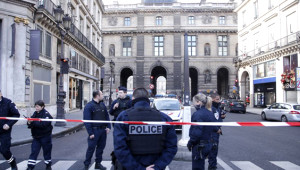 Paris'in Dünyaca Ünlü Louvre Müzesi'ne Yapılan Saldırıdan Kareler