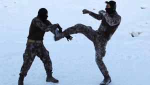Terörle Mücadelenin 'Özel' Kahramanlarından Çok Özel Kareler