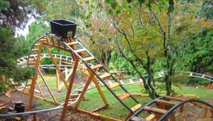 Mühendis Dededen Torunu İçin Yaptığı Müthiş Eğlence Parkından 23 Kare