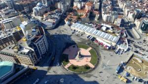 Taksim Camii'nin Temel Atımından İlk Kareler