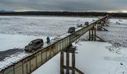Ölümü Göze Alarak Geçilen Korku Filmi Gibi Köprüden 13 Kare