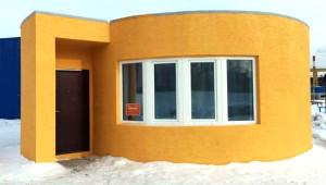 Yapımı Sadece 1 Gün Süren, 3D Yazıcıyla Üretilen Mucize Ev