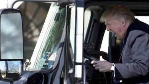 ABD Başkanı Trump TIR Şöförü Oldu