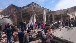 Diyarbakır'daki Şiddetli Patlamadan İlk Kareler