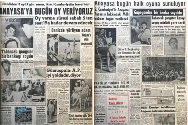 Türkiye 7. Kez Referandum İçin Sandık Başında