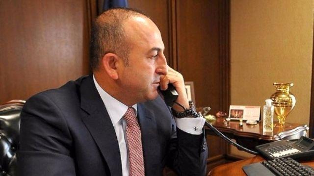 Dışişleri Bakanı Çavuşoğlu'nun Rusya Dışişleri Bakanı Lavrov ile Görüştü