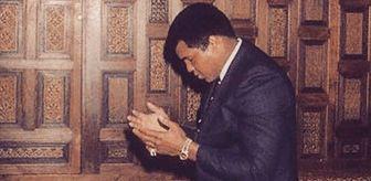 Carmelo Anthony, Muhammed Ali'nin Fotoğrafını Paylaşarak 'Elhamdülillah' Yazdı