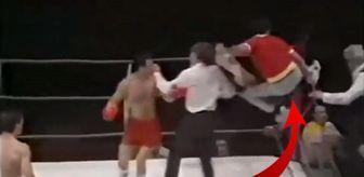 Antrenör Ringe Daldı, Önüne Geleni Dövmeye Kalktı