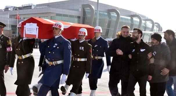 Askeri Aracın Çarpması Sonucu Şehit Olan Astsubay Konya'da Toprağa Verilecek (4)
