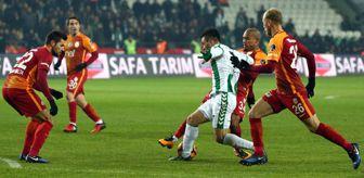 Atiker Konyaspor-Galatasaray: 0-1