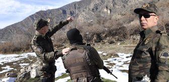 Hakkari Emniyet Müdürü, Kazan Vadisi'ndeki Operasyona Katıldı