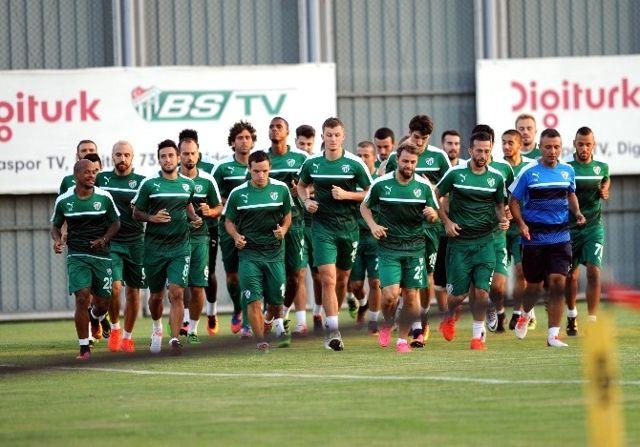 Bursaspor'da Fenerbahçe Maçı Hazırlıkları