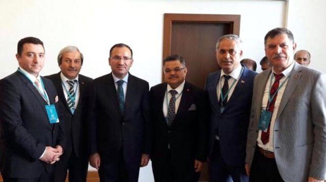 Başkan Bakıcı Antalya'da Yapılan İstişare Toplantısında Çeşitli Temaslarda Bulundu, System.String[]