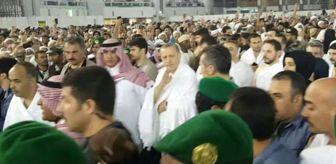 Erdoğan, Suudi Arabistan'da Umre Yaptı! İşte Kabe'den Görüntüler