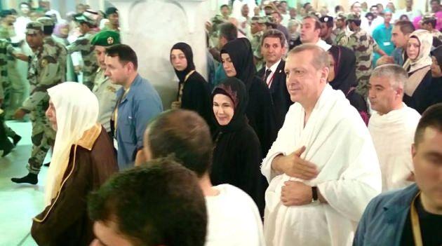 Cumhurbaşkanı Erdoğan'ın Umre Görüntüleri