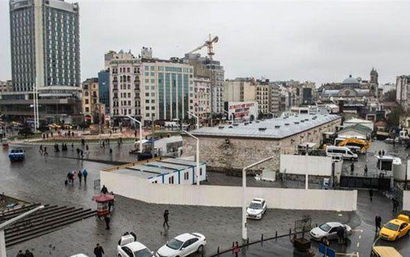 Taksim'e Yapılacak Cami İçin Temel Atma Töreni (2)