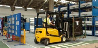 Hanönü'de Forklift Operatörlüğü Kursu Düzenlendi