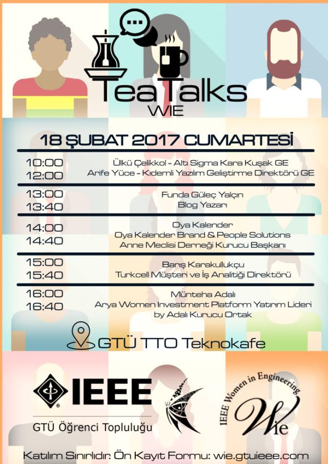 Ieee Gtü Wie Tea Talks, System.String[]