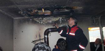 Benzinle Soba Yakmak İsterken Alevlerin Arasında Kaldı