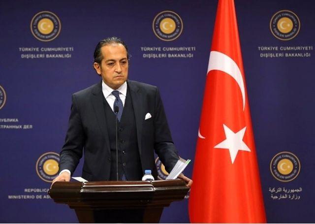 Dha Ankara - Dışişleri Sözcüsü Müftüoğlu: Başvuruyu Yadırgıyoruz