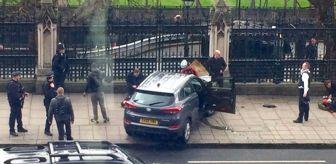 Londra parlemento Binası Önünde Terör Saldırısı! Saldırgan Yayaları Ezdi, Ateş Açtı