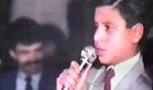Alişan 11 Yaşındayken Sahnede Çekilen Videosunu Paylaştı