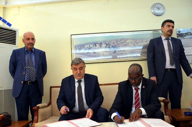 Harran Üniversitesi Somali Devlet Üniversitesiyle Protokol İmzaladı