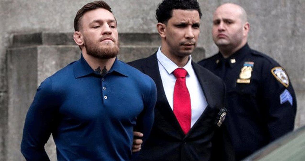 Conor McGregor'ın Gözaltına Alınma Görüntüleri Ortaya Çıktı
