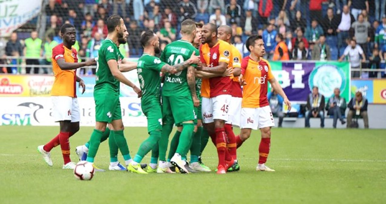 Olaylı Çaykur Rizespor-Galatasaray Maçının Ardından 5 İsim PFDK'ya Sevk Edildi