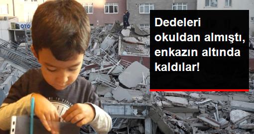 İstanbul'da Çöken Bina 5 Yaşındaki İkizleri Ayırdı
