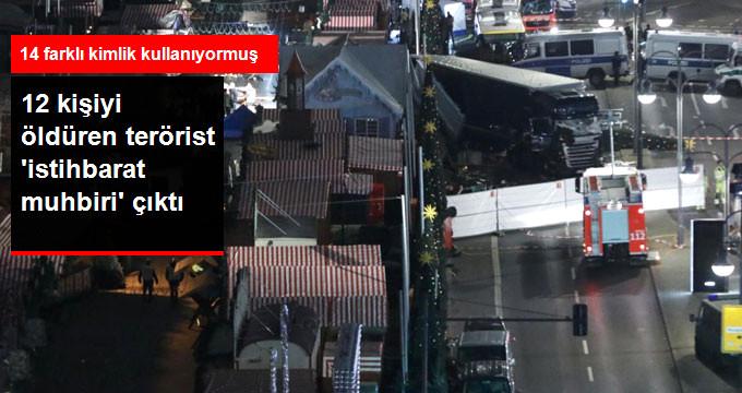 12 kişiyi öldüren terörist 'istihbarat muhbiri' çıktı