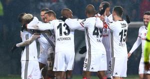 Ankaranın ayazında Beşiktaş alev aldı