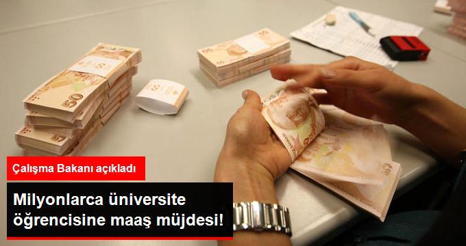 Milyonlarca üniversite öğrencisine maaş müjdesi!