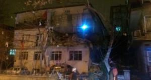 Ankara Çankaya'da doğalgaz patlaması! Olay yerine ambulans sevk edildi