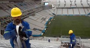 Dünyanın en büyük stadının inşasına başlandı!
